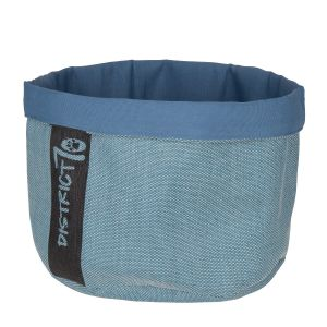 District 70 Cozy Kattenmand Denim Blauw