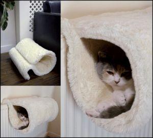 Rosewood Radiator Kattenmand Luxury